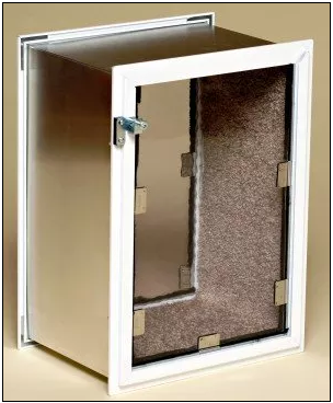 Dog doors for walls or a cat door for wall can make your life better