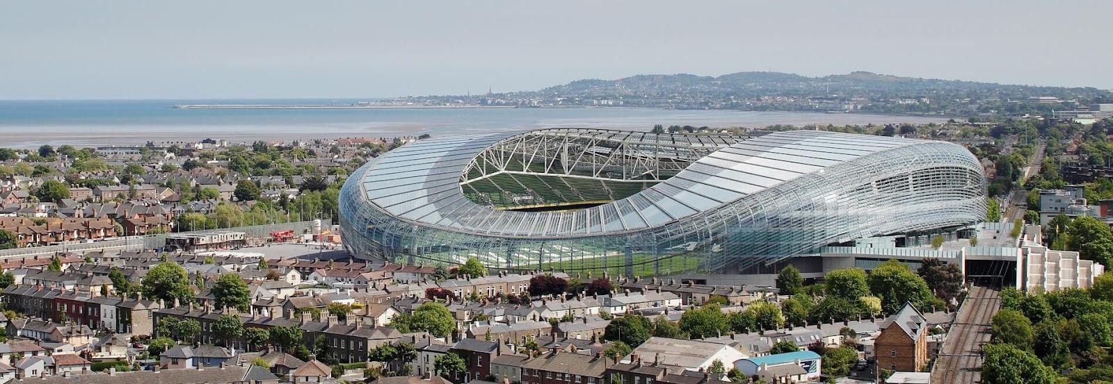 Mẫu thiết kế sân vận động lượn sóng