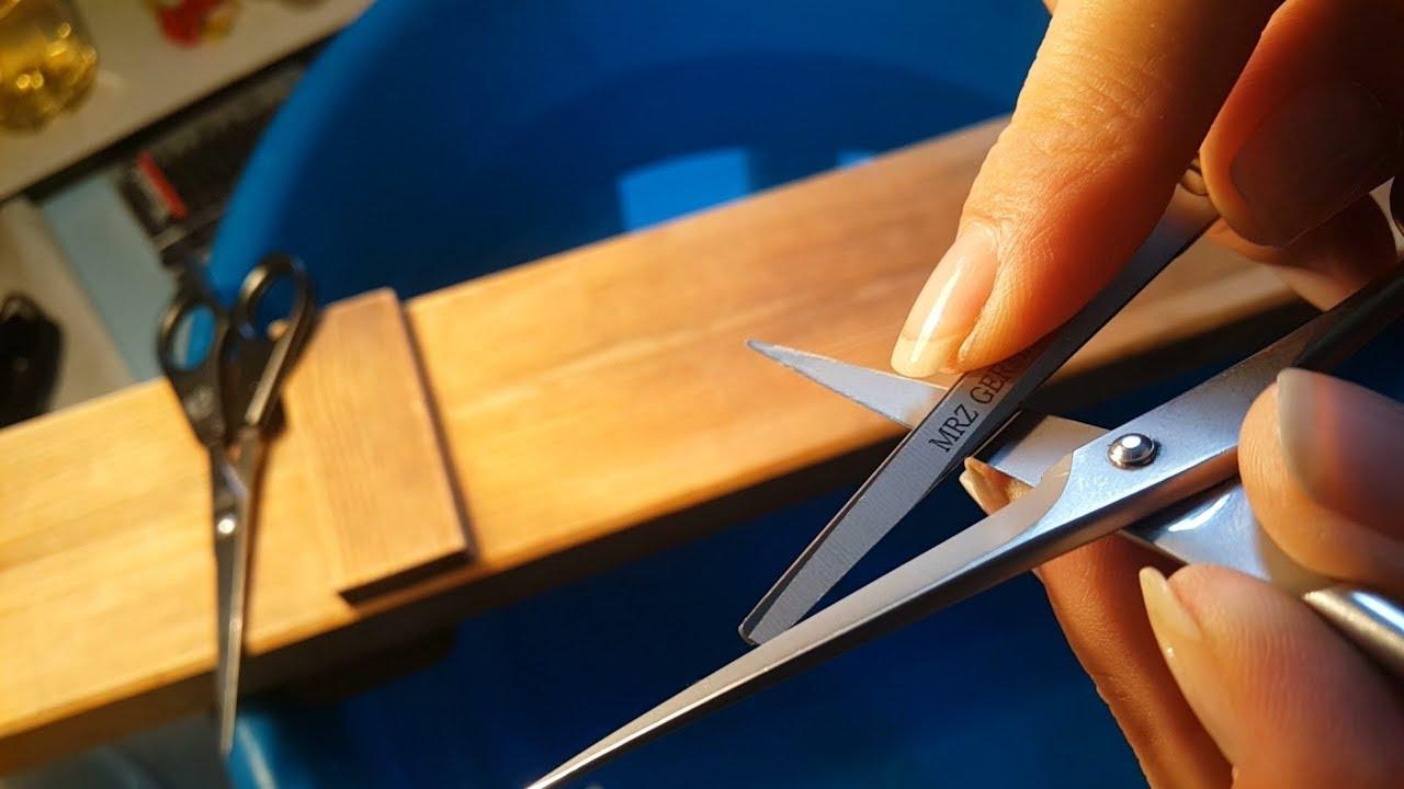 Заточка ножниц для волос
