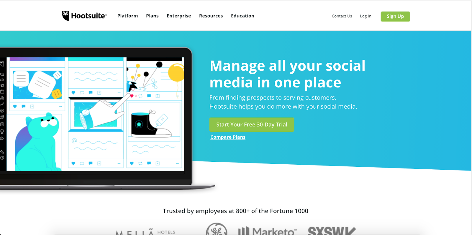 Hootsuite Social Media Marketing Tool | Real Estate Marketing Tools