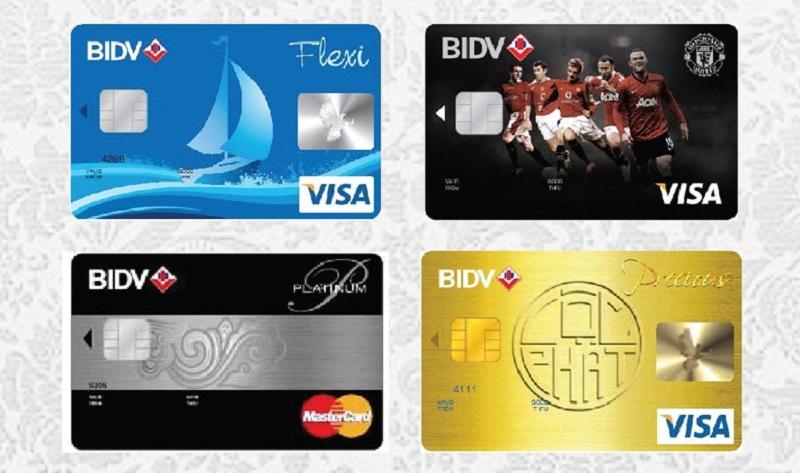 Thẻ tín dụng BIDV hạn mức sử dụng tốt