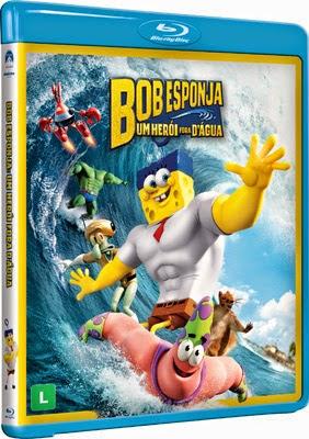 Filme Poster Bob Esponja - Um Herói Fora D'Água BDRip XviD Dual Audio & RMVB Dublado