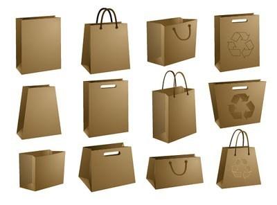Nhiều loại túi giấy