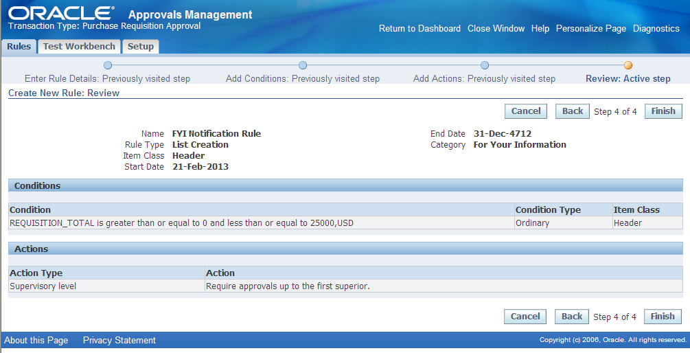 oracle ame Login using approvals management business analyst responsibility click setup report in the quick links on the administrator dashboard to open the setup report page 2oraclectrl-state=1 how to setup and use ame for purchase requisition approvals to learn about ame setup and use the setup report to view and.