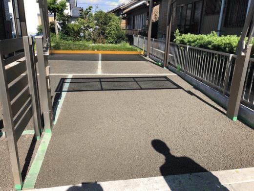 Diy 駐 車場 コンクリート