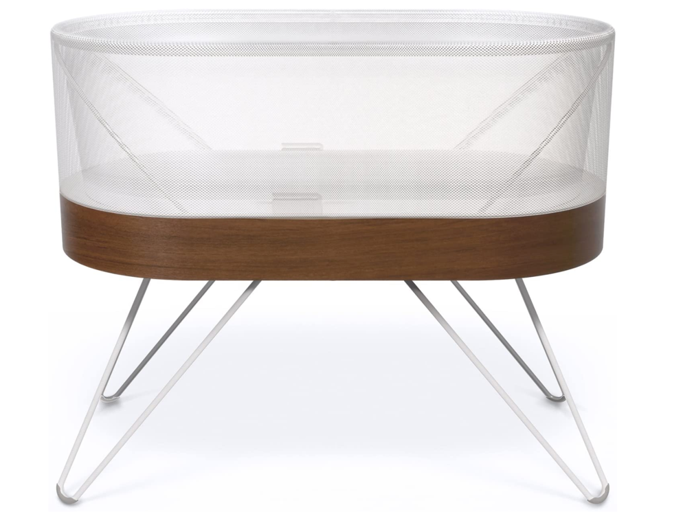 First week at home with baby bassinet