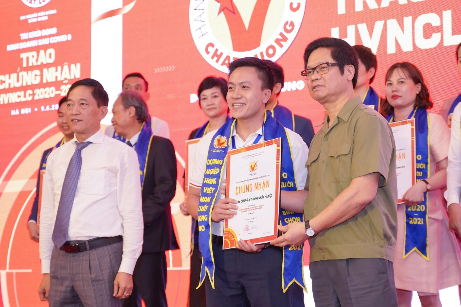 Xe đạp Thống Nhất nhận danh hiệu Hàng Việt nam chất lượng cao 2020-2021 - Xe Đạp Thống Nhất