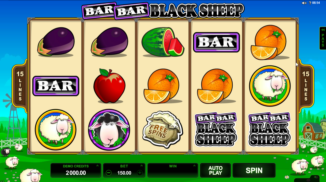 Bar Bar Black Sheep Slots Game Review