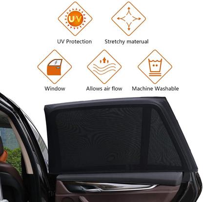 Zoto Car Rear Window Sunshades