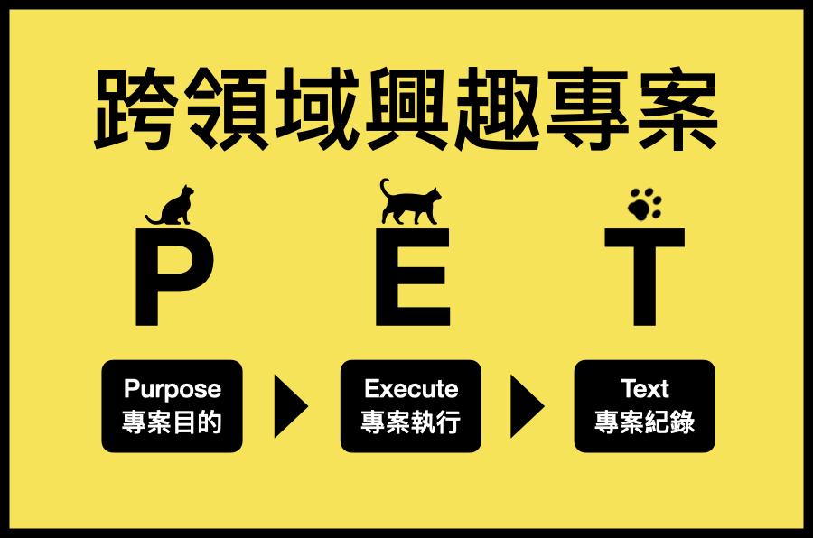 用 PET 3步驟,啟動你的跨領域學習興趣專案