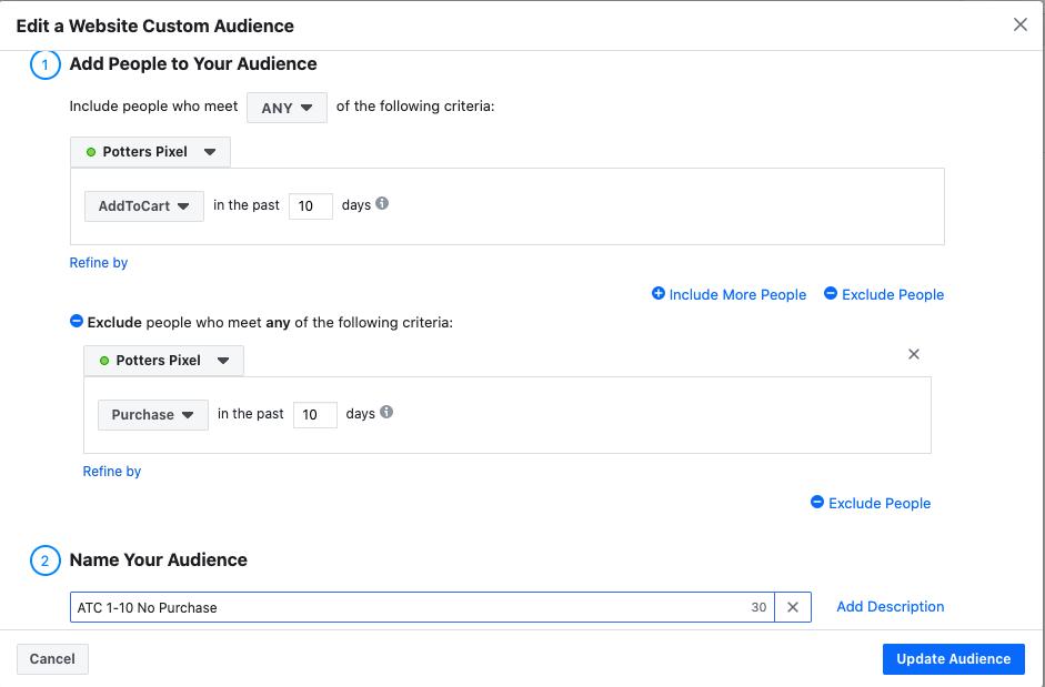 Facebook Custom Audience Tool