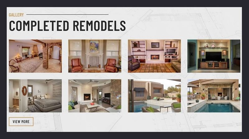 Showcase Recent Projects on your contracting website