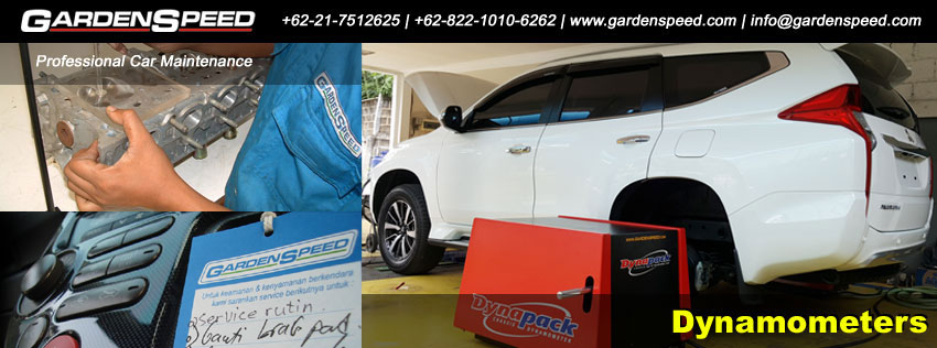 bengkel mobil Garden Speed poster