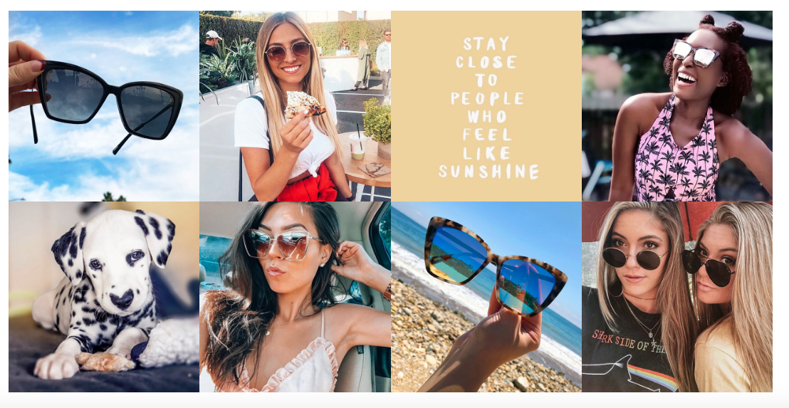 Diff Eyewear User Generated Content