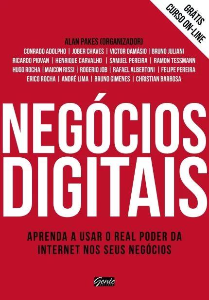 """Capa do livro """"Negócios Digitais"""""""