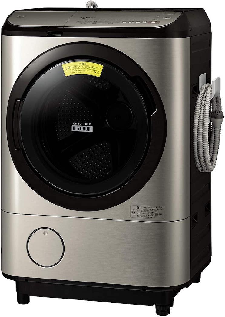 日立ドラム式洗濯機BD-NX120E