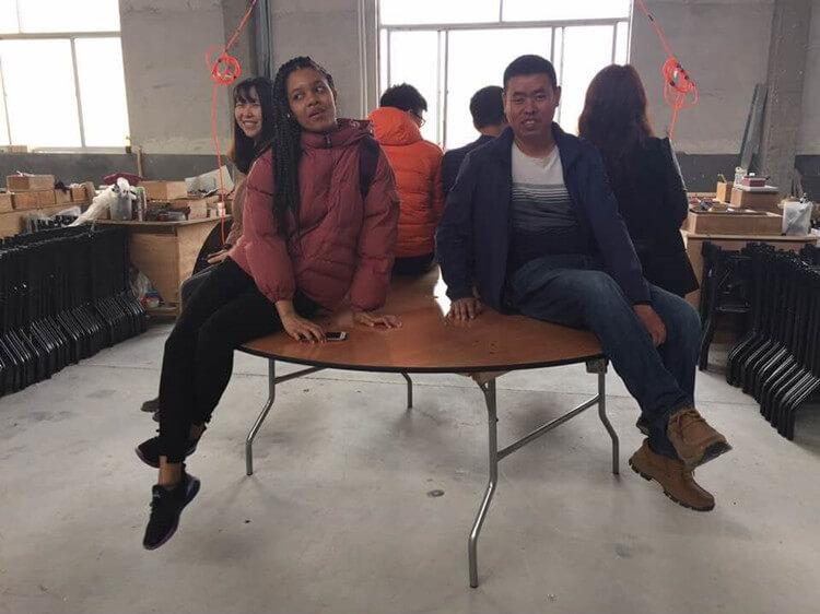 edding chair factory