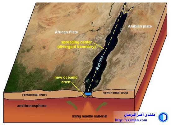 خريطة النشاط الزلزالي للشرق الأوسط