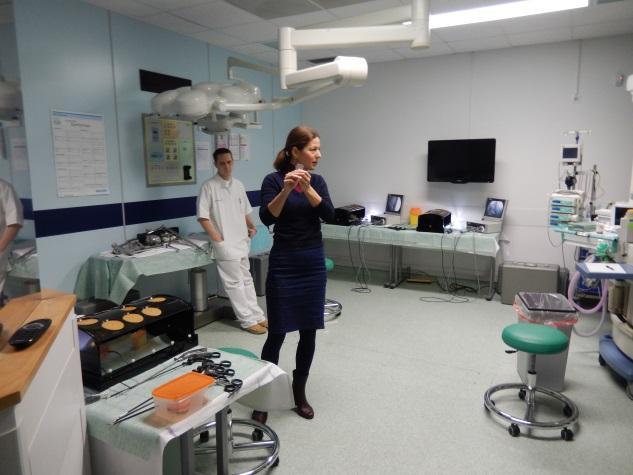 Dr Jakopič nam opisuje delo na simulatorjih