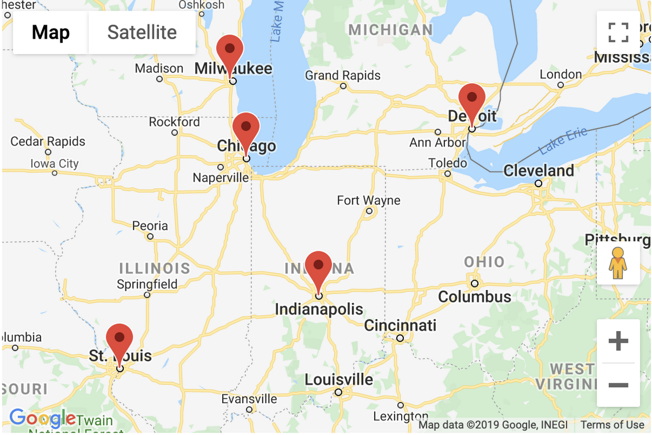 ilustrasi google maps distance matrix api