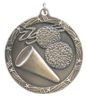Cheerleading Star Medal