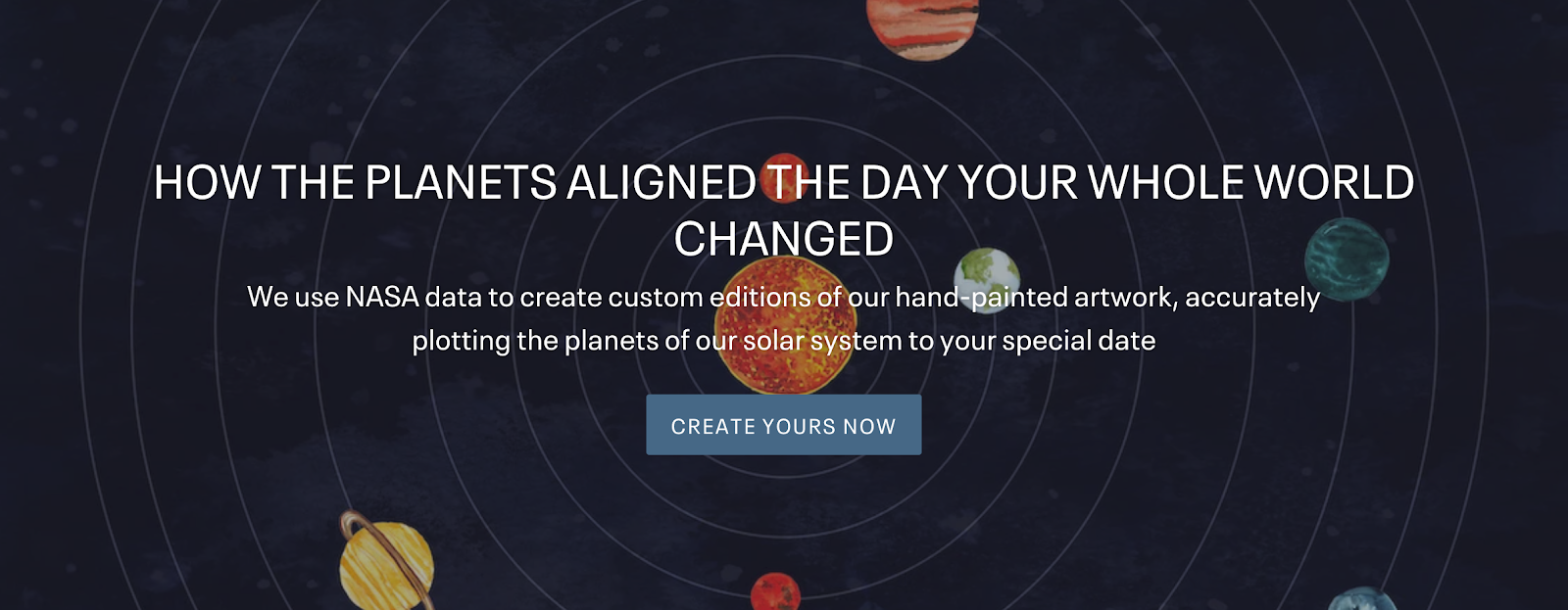 Personalized Solar System Art | Influencer Opportunities