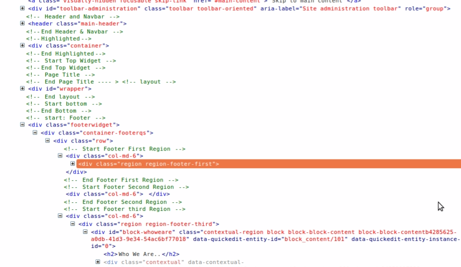 Drupal 8: Enabling/Disabling Theme Debugging | CodeExpertz