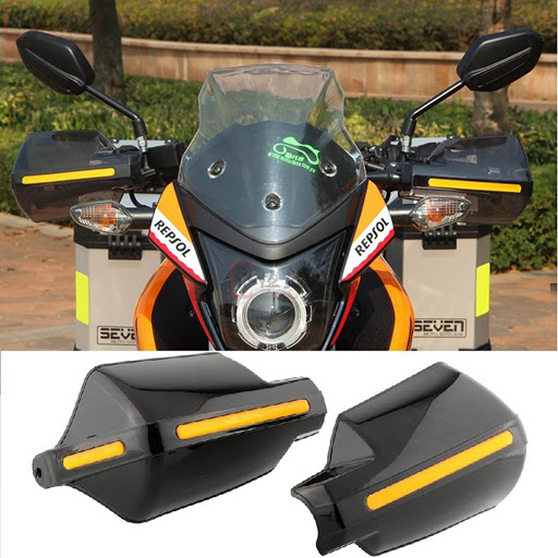 Motorcycle Hand Guard Shield That Helps In Removing Fear Of Big Bikes