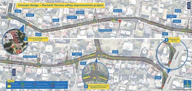 Dornoch Terrace Safety Improvements Project