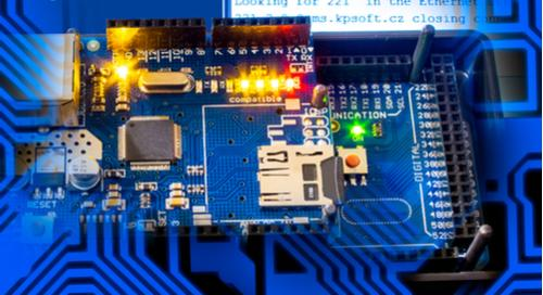 Embedded controller with analog and digital components