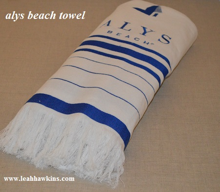 alys beach towel