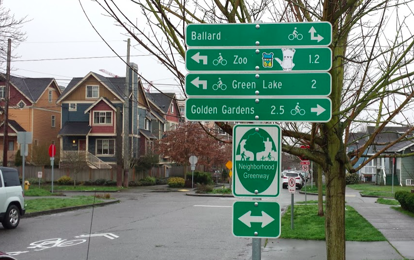 Wayfinding Signage in Seattle