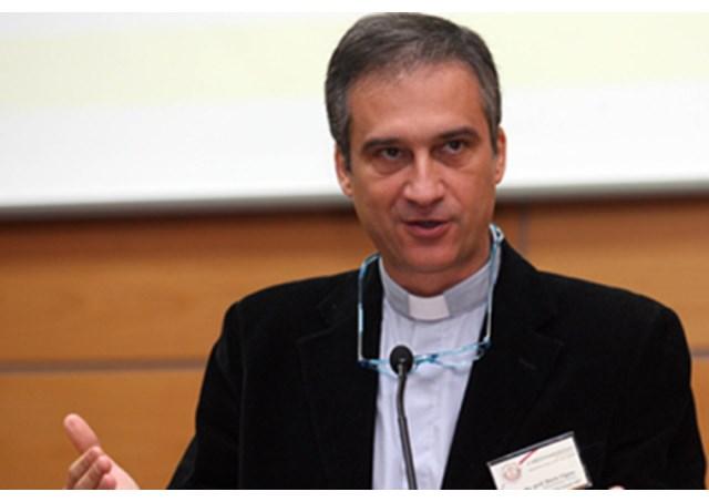 Monsignor Dario Viganò, Prefect of the Vatican Secretariat for Communications