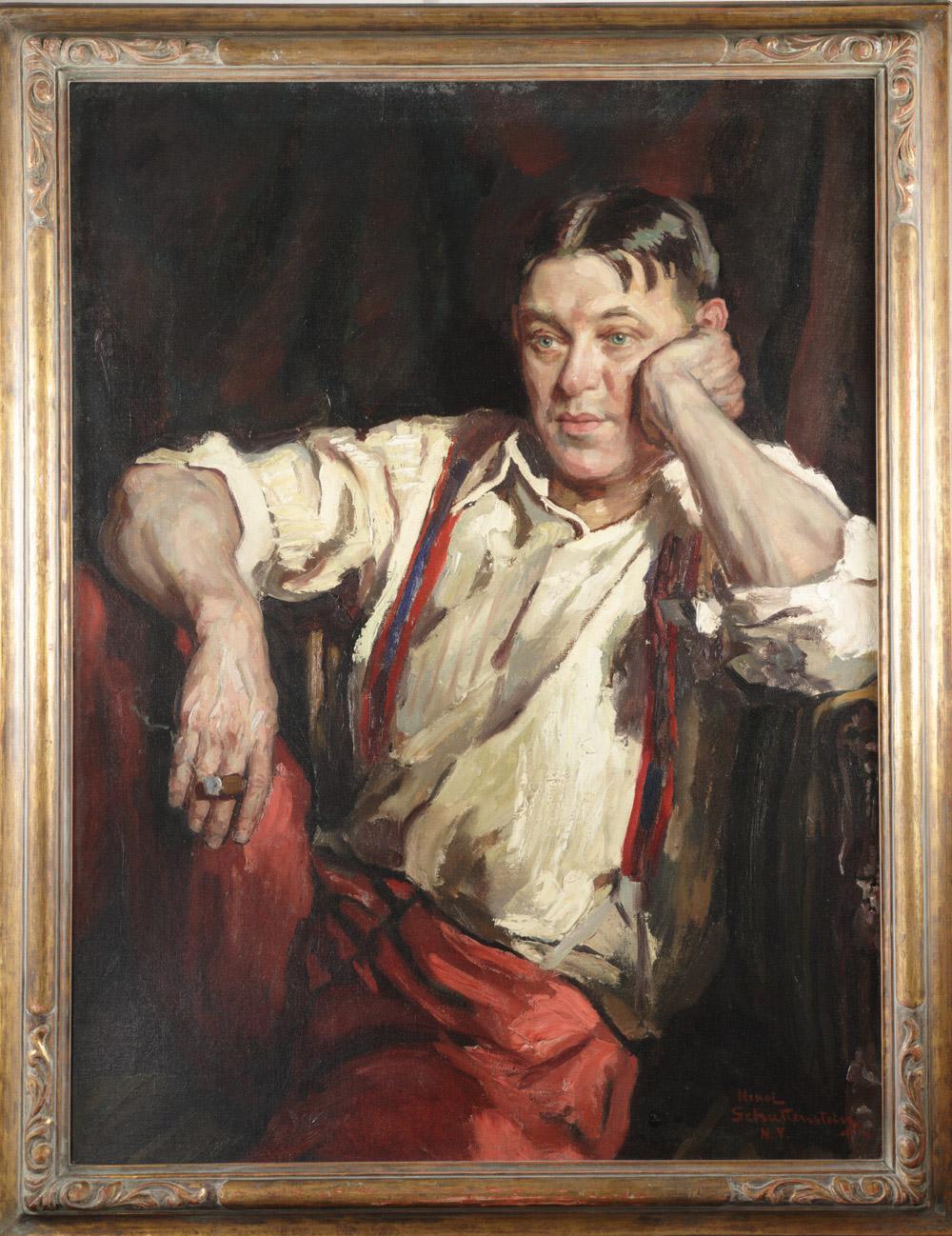 Portrait of H. L. Mencken