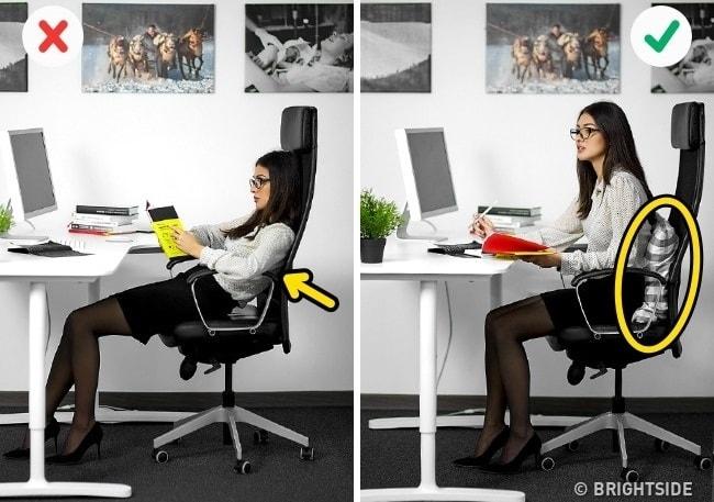 6 lưu ý khi điều chỉnh ghế văn phòng đúng cách tránh đau lưng