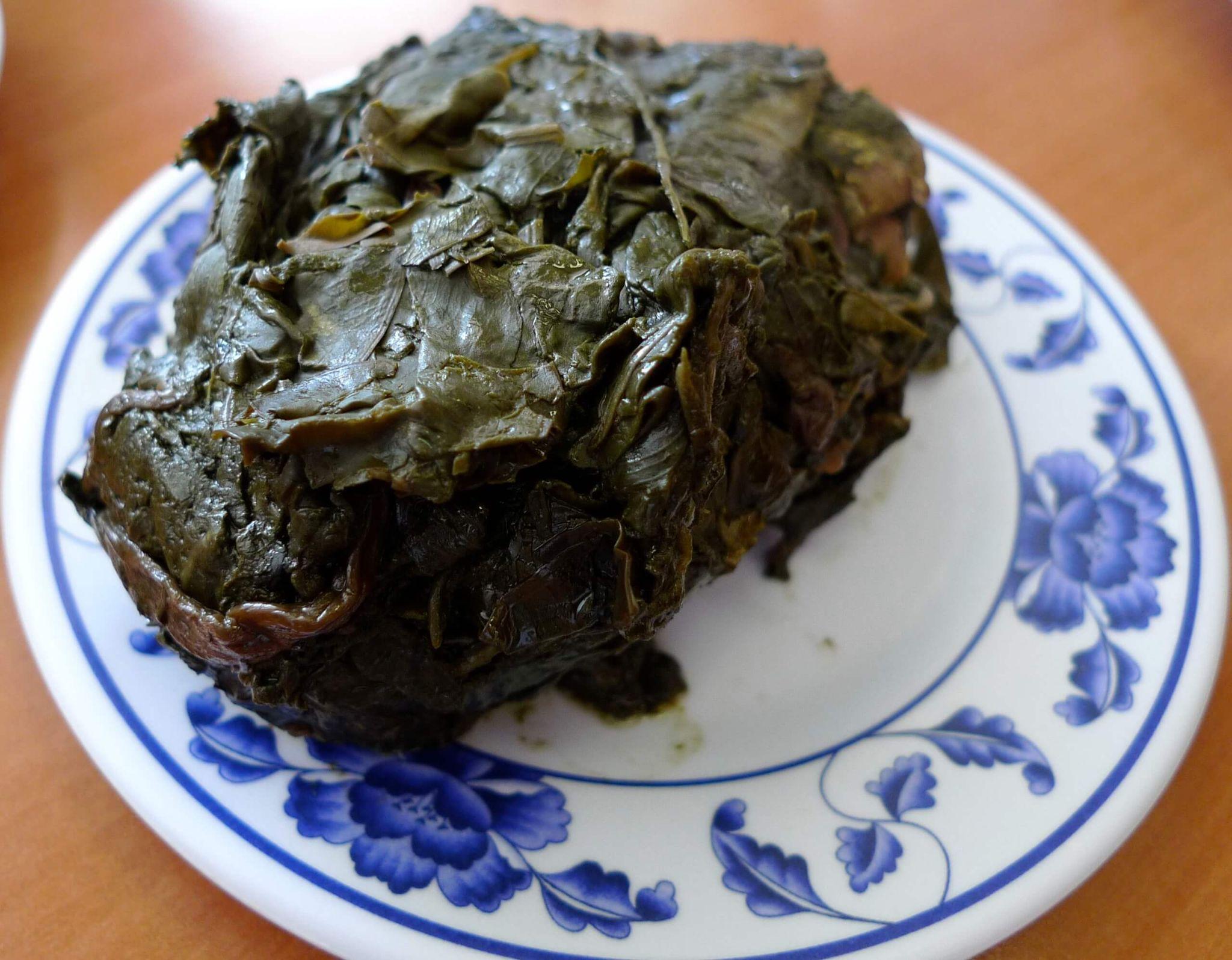 Hawaiian Laulau, Hawaiian soul food, sweet potato, Chinese cabbage, goat, lamb, deer