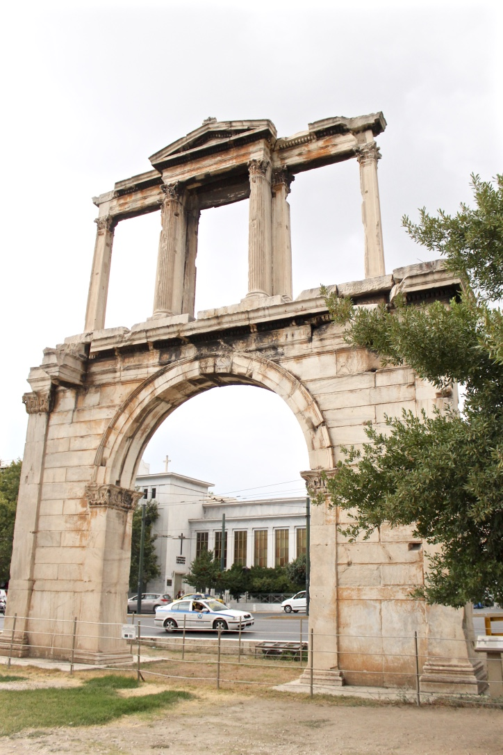Arch of Hadrian, Athens, Greece