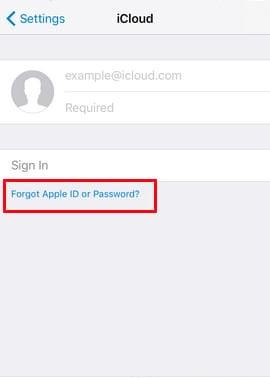 Làm thế nào để lấy lại mật khẩu Icloud bằng câu hỏi bảo mật?