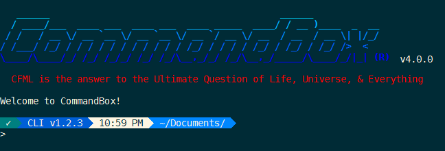 CommandBox 4 0 0 Released