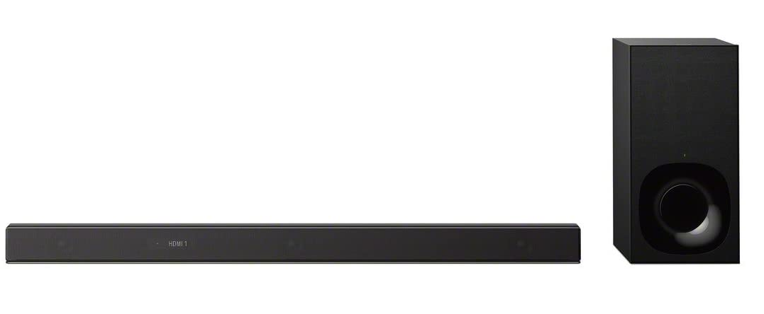Sony Z9F 3.1ch Sound bar with Dolby Atoms and Wireless Subwoofer (HT-Z9F), Home Theater Surround Sound Speaker System for TV Black