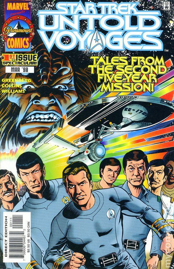 Star Trek Untold Voyages, warpcore, tv show