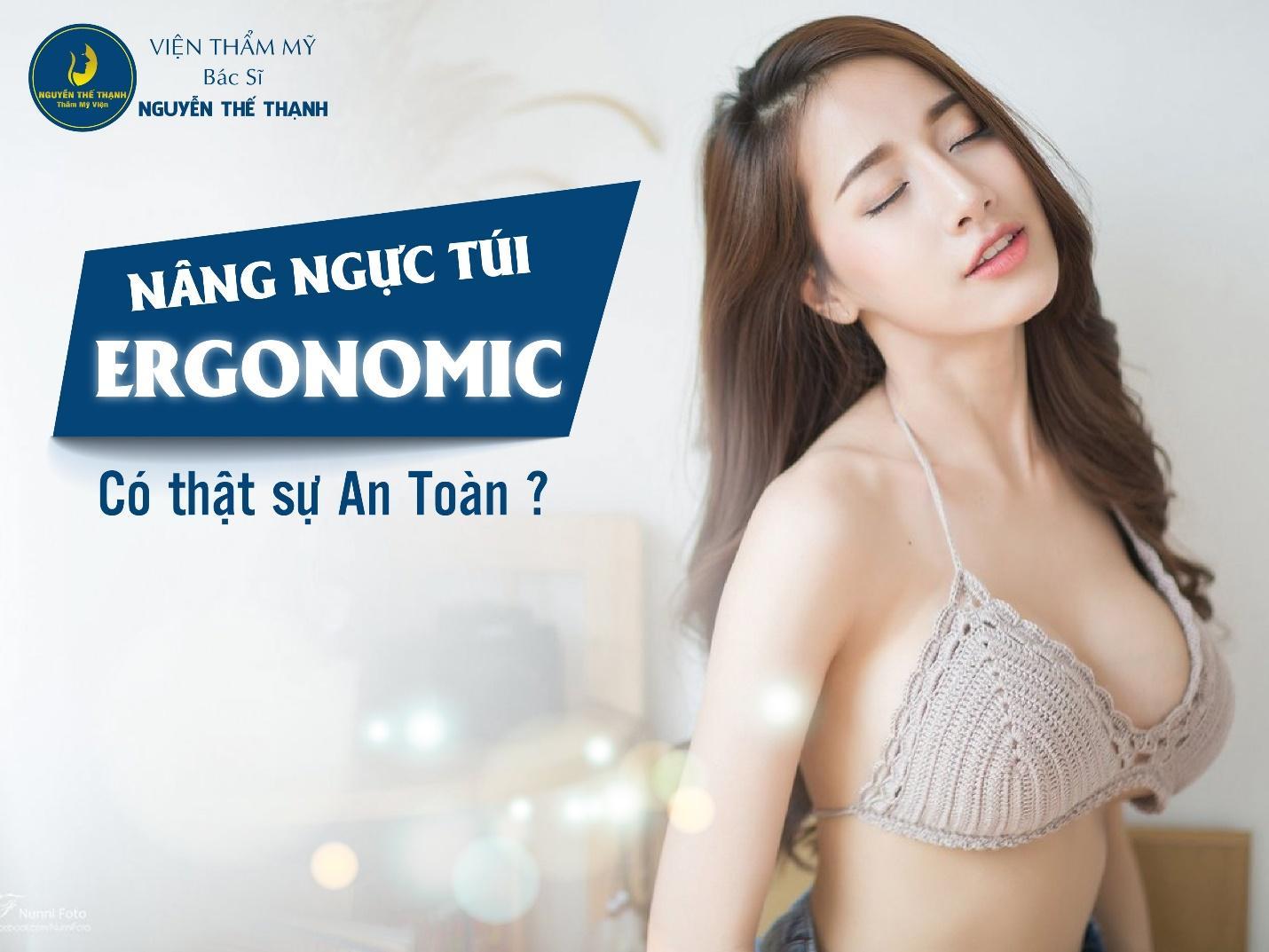 Nâng ngực túi Ergonomic có thật sự an toàn?  - Ảnh 1