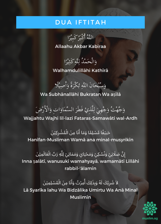 doa iftitah sunnah