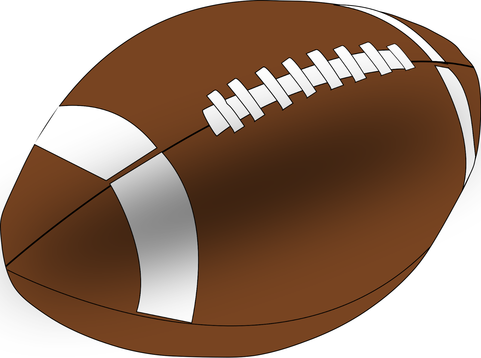The football used in most ...