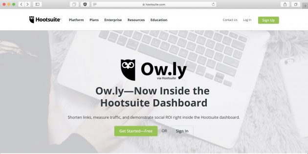 Ow.ly acortador web alternativa