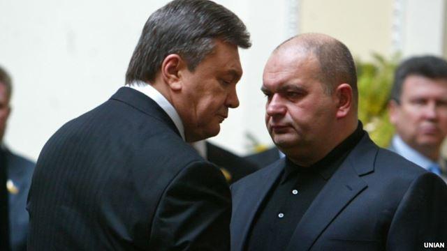 Виктор Янукович и Николай Злочевский.  Архивное фото
