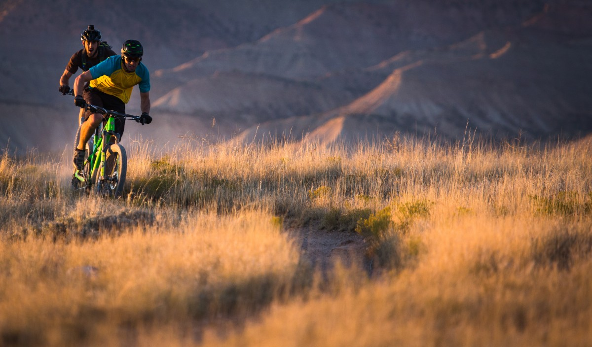 mountain light sunset prairie morning adventure evening dust ride glow extreme sport fun colorado sports cool downhill biking bikes habitat fruita chase yeti yeticycles mountain biking mtb driven adenture natural environment cycle sport