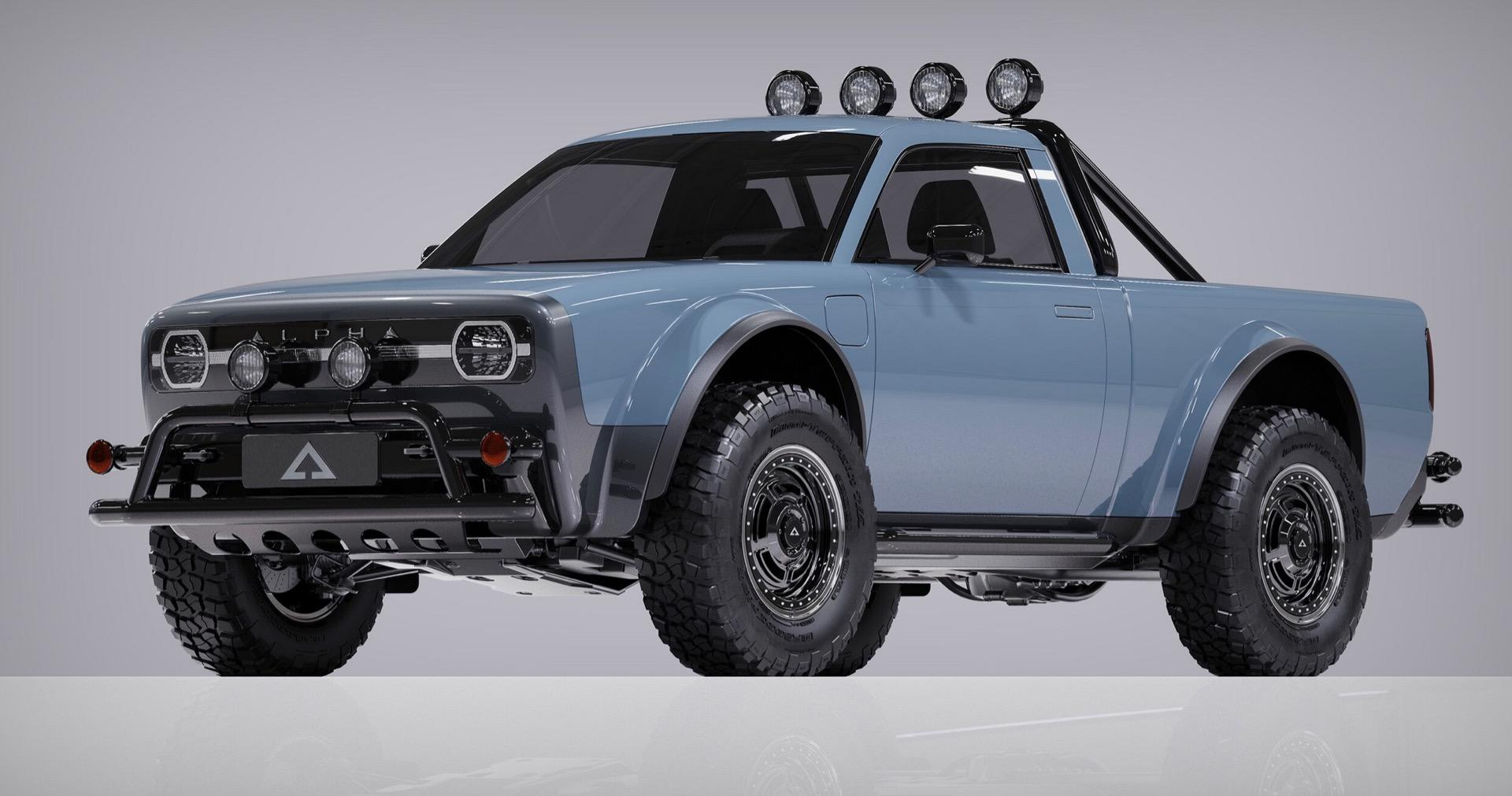 The Alpha Wolf EV pickup is the electric truck we want - Online EV