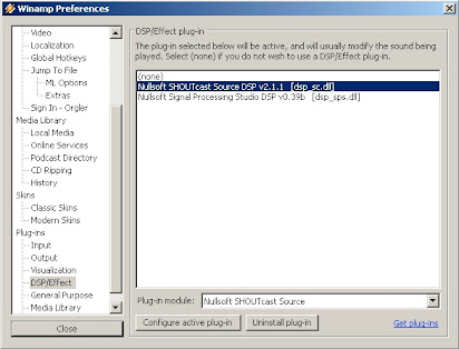 Winamp shoutcast plugin download chip