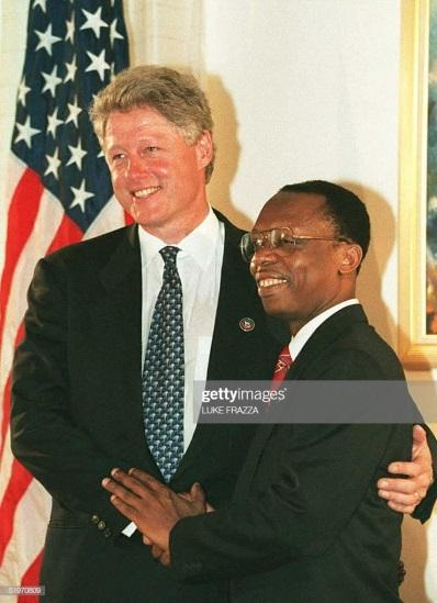 Image result for CLINTON ARISTIDE HAITI PHOTOS